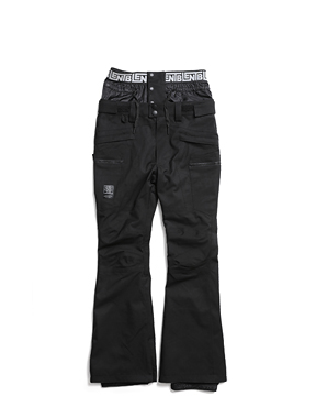 ALRO SLIMFIT PANTS _ BLACK